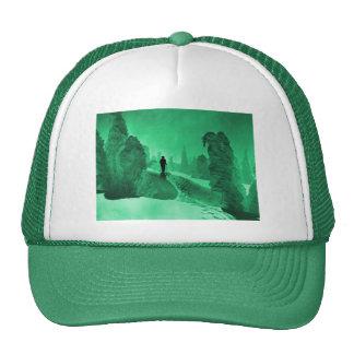 Hiver dans la forêt casquette