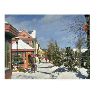 Hiver de Breckenridge, le Colorado, Etats-Unis Carte Postale