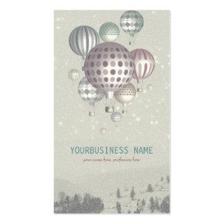 Hiver Dreamflight (temps de Noël) Cartes De Visite Professionnelles