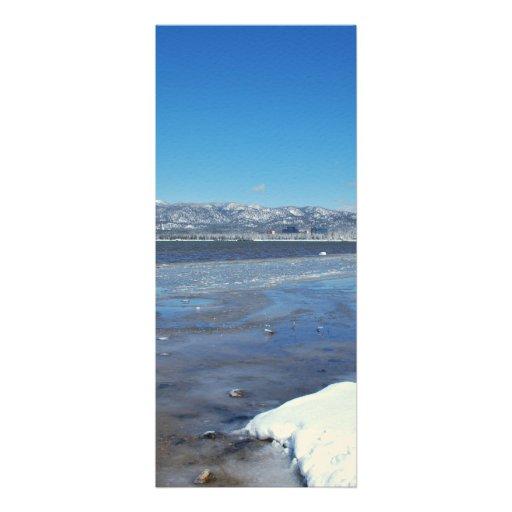 Hiver du lac Tahoe Faire-part Personnalisés