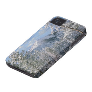 Hiver en parc national de Yellowstone, Wyoming Coques iPhone 4 Case-Mate