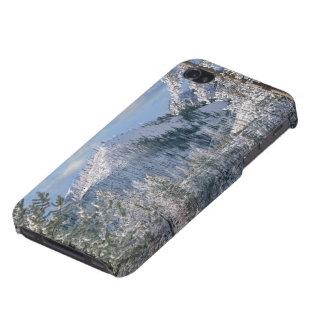 Hiver en parc national de Yellowstone, Wyoming iPhone 4 Case