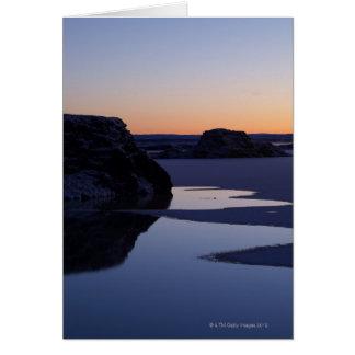 Hiver, lac Myvatn, Islande Cartes