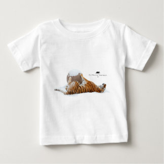 Hiver Lilly - tigre T-shirt Pour Bébé