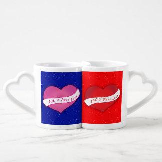 Hiver pur d'amour de 100% mug