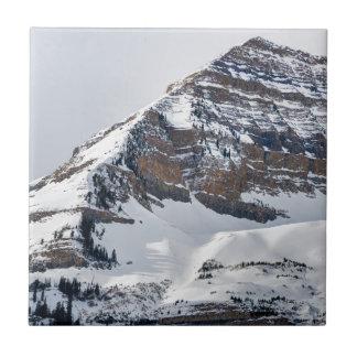 Hiver sur Mt Timpanogos - Sundance - Utah Carreau
