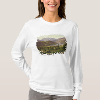 Hjelle dans Valders, fjord de tuile, 1835 T-shirt