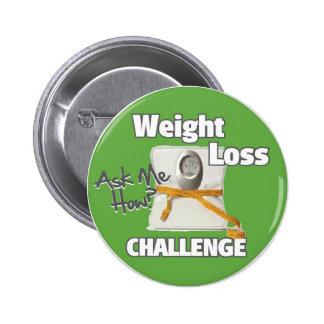 HL de défi de perte de poids Pin's
