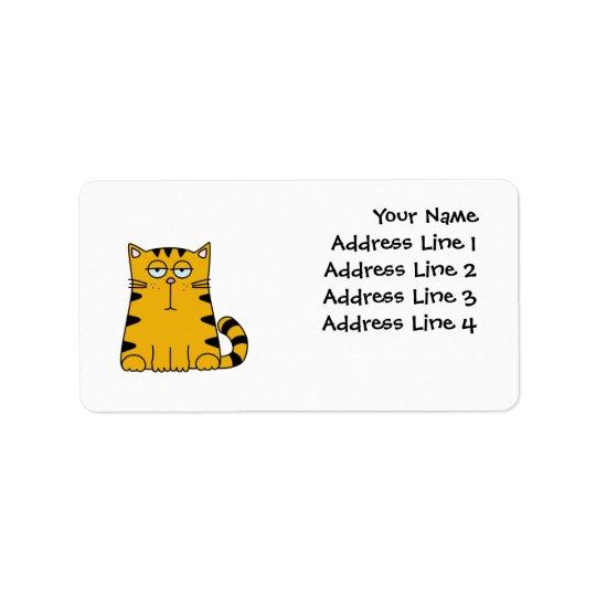 Ho bourdonnement Kitty Étiquette D'adresse