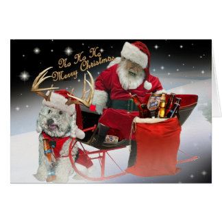 HO HO HO ayez d'un Joyeux les cartes Noël
