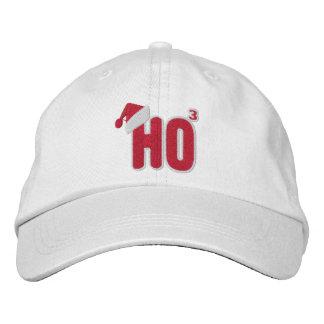 Ho Ho Ho ballot de Père Noël Casquette Brodée