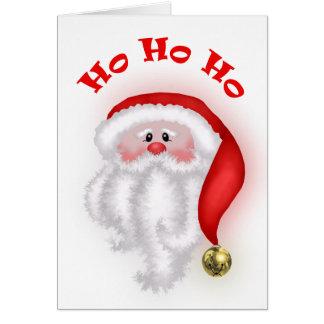 Ho Ho Ho carte de Père Noël