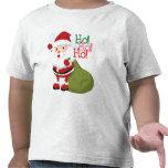 Ho-Ho-Ho chemise d'enfants en bas âge de Père Noël T-shirts