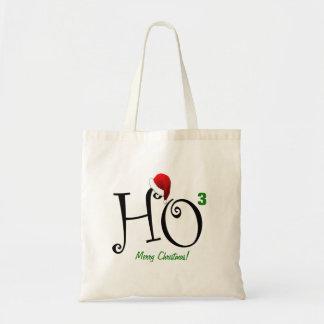 Ho Ho Ho !  Joyeux Noël Sacs En Toile