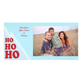 Ho-Ho-Ho Noël Photocard Photocarte Personnalisée