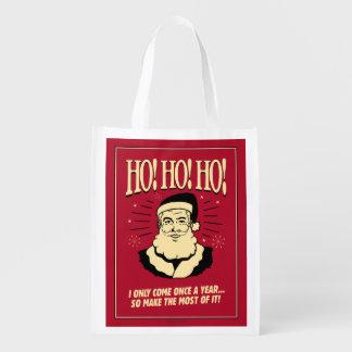 Ho ! Ho ! Ho ! Sacs D'épicerie