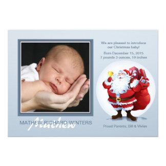 Ho Ho Père Noël - carte photo de vacances Invitations