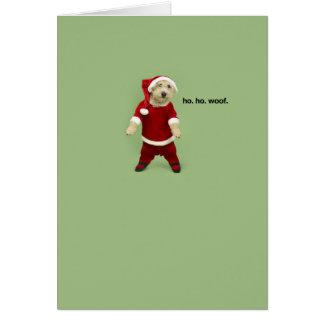 ho. ho. trame carte de vœux