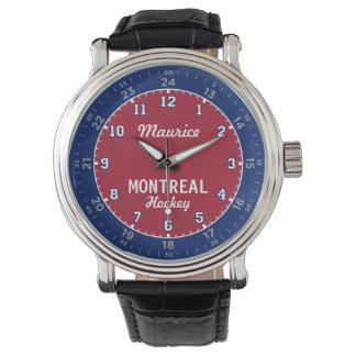 Hockey de Montréal 24 montres d'heure