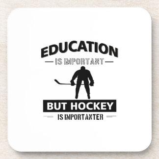 Hockey drôle dessous-de-verre