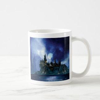 Hogwarts par clair de lune mug
