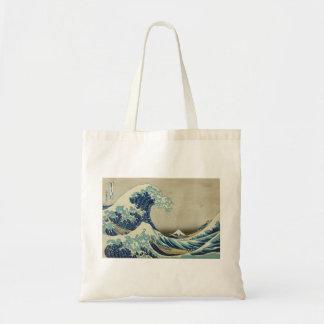 Hokusai - la grande vague outre de Kanagawa Sacs De Toile