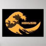 Hokusai - la grande vague posters