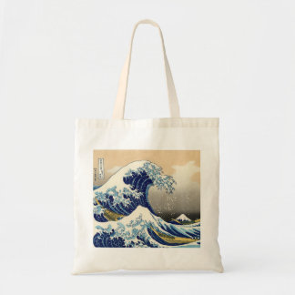 Hokusai le grand sac fourre-tout à vague