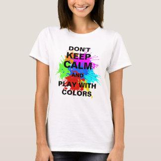 holiES - éclabousse autour de 2 + vos idées T-shirt