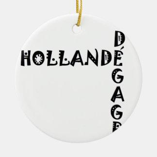 HOLLANDE DEGAGE.png Ornement Rond En Céramique