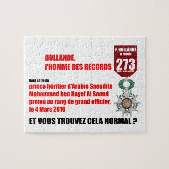 Hollande Record Legions d'Honneur - Puzzle