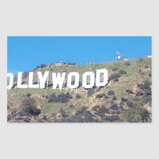 Hollywood Hills Sticker Rectangulaire