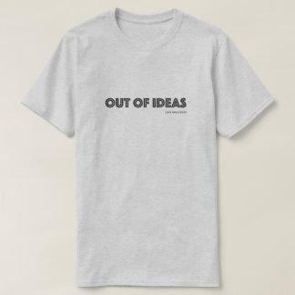Hollywood paresseux hors de T-shirt d'idées
