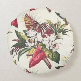 Hollywood tropical coussins ronds