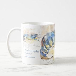 Homard bleu mug