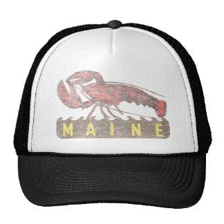 Homard de rouge du Maine Casquette De Camionneur
