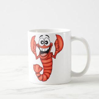 Homard de sourire drôle mug