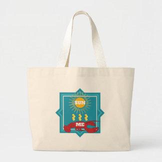 Homard de Sun Grand Tote Bag