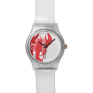 Homard rouge montres