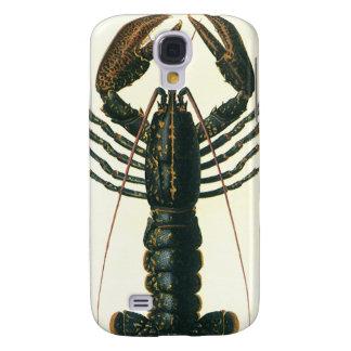 Homard vintage, crustacé marin de la vie d'océan coque galaxy s4