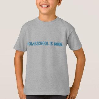 Homeschool est T-shirt frais d'enfants