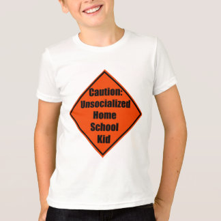 Homeschooler d'Unsocialized T-shirt