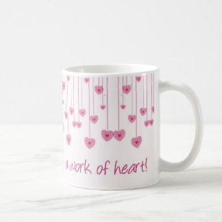 Homeschooling est un travail de coeur ! mug