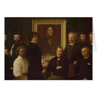 Hommage à Delacroix, 1864 Carte De Vœux