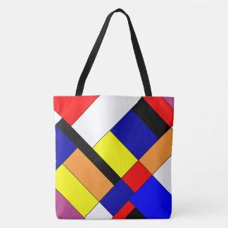 Hommage à Mondrian Tote Bag