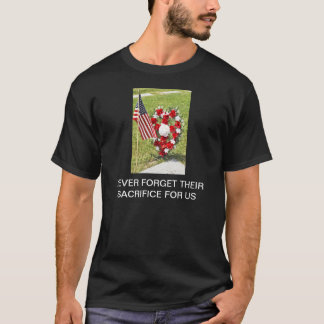 Hommage de jour de mémorial/vétérans t-shirt