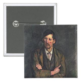 Homme avec les bras croisés, c.1899 badge