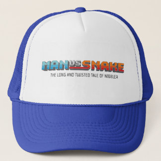 HOMME CONTRE le casquette de camionneur de SERPENT