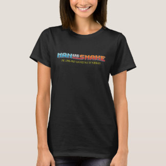 HOMME CONTRE le T-shirt noir des femmes de SERPENT