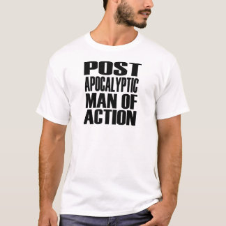 homme d'action Courrier-apocalyptique T-shirt